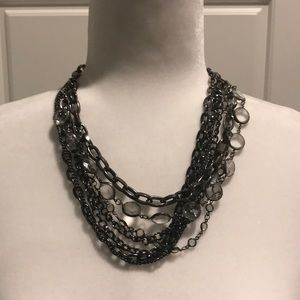 Simply Vera Vera Wang crystal bib necklace